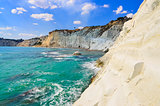 Beautiful ocean beach Scala dei Turchi in Sicily