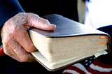 Old Man and his Bible