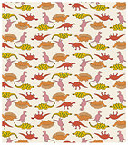 Cute Dinosaur Pattern