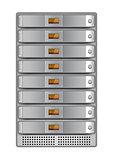 server rack installed-4