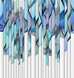 abstract blue purple backdrop fragmented