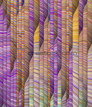 abstract rainbow backdrop fragmented