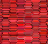 abstract red pink backdrop fragmented