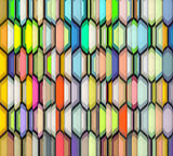 abstract  backdrop fragmented rainbow color