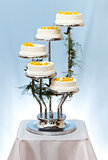 Multi-storey wedding cake