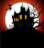 Halloween dark back