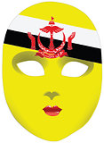 Brunei mask