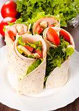 Tortilla sandwiches