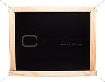 Brand new blank blackboard