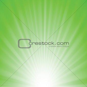 greenrays background