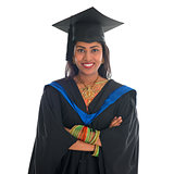 Indian university student portrait