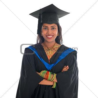 Indian university student portrait