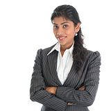 African American businesswoman in business suit
