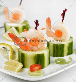 Appetizers With Shrimps