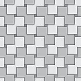 Abstract gray square seamless vector texture