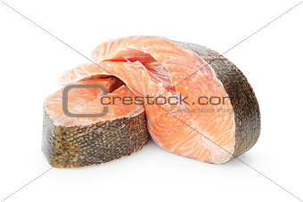 fresh trout steaks