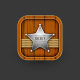Wooden Sheriff icon