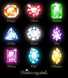 Collection of sparkling gems.