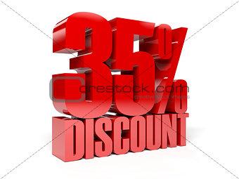 35 percent discount.