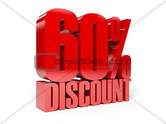 60 percent discount.