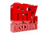 65 percent discount.