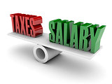 Taxes and Salary opposition.