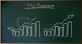 Business Plan on Schoolboard in Vector