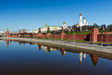 Moscow Kremlin and Ivan the Great Bell Tower, Russia