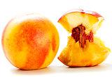 Half nectarine