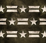 Military stars background. Pride power strength