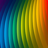 Abstract rainbow background, vector Eps10 illustration.