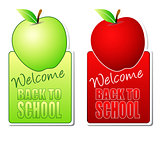 welcome back to school color labels