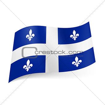 Flag of Quebec.