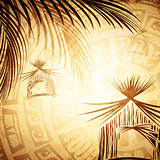 Vintage Tropic Background