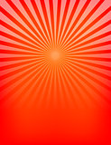 Empty Red Sunburst Pattern