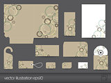 Stationery design vector eps10