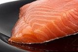 Yummy portion of salmon