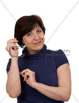 Portrait of middle-aged women
