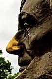 Abraham Lincoln Gravesite Statue