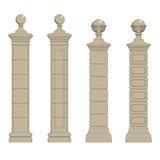 set of pillars
