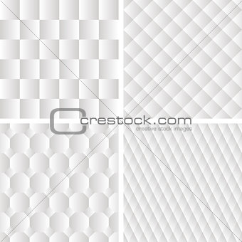 4 seamless geometric patterns
