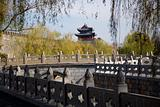 City Wall and Tower, Qufu, Shandong Province, China