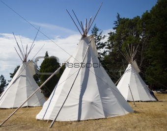 Three Teepees