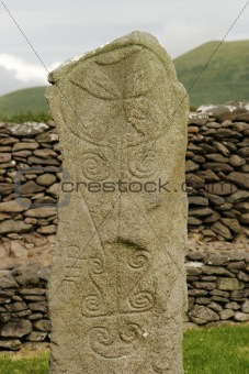 Ancient Celtic Tombstone