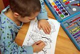 Child Colored
