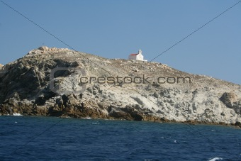 Churck on the Hillside -- Mykonos