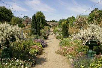 Kitchen Garden at Glin