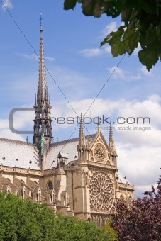 Postcard view of Paris