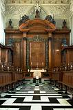 university of oxford, trinity college chapel