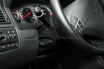 modern new car